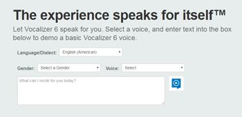 Diagenix Corporation - Voice Technology: Nuance Vocalizer